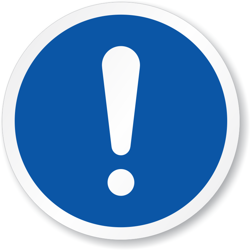 General Mandatory Action Iso Circle Iso Mandatory Signs