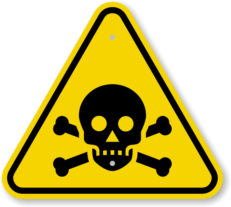 Image result for TOXIC WARNING SIGN