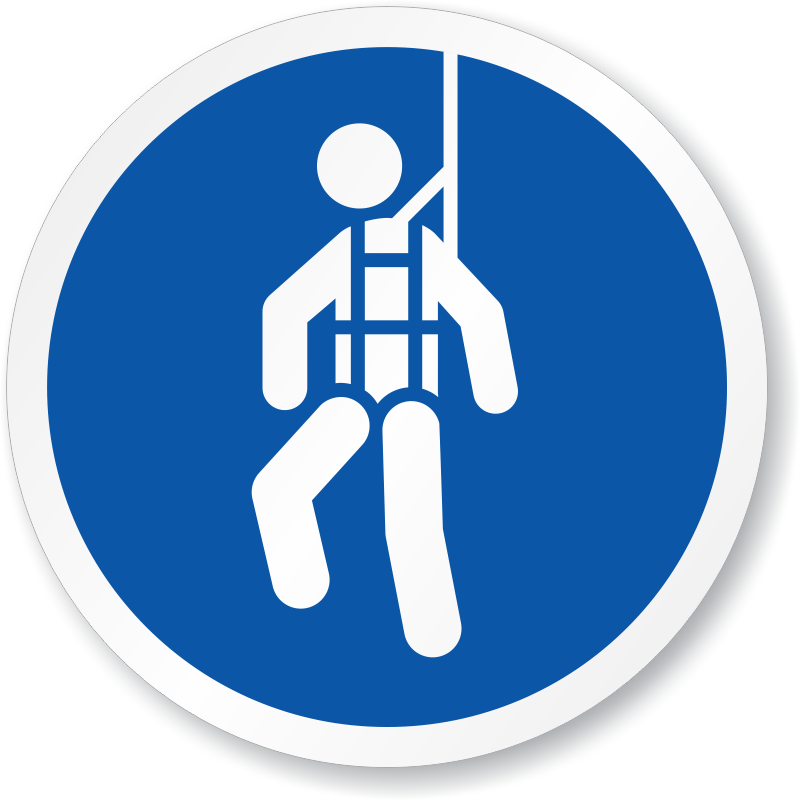 Clip Art Fall Protection