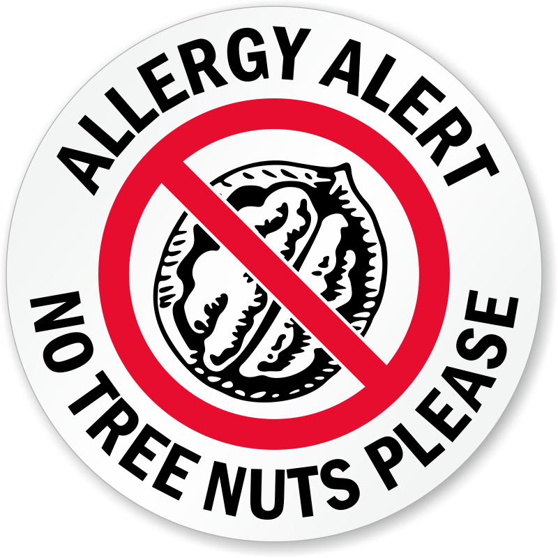 Food Allergy Warning Signs Mysafetysign Com