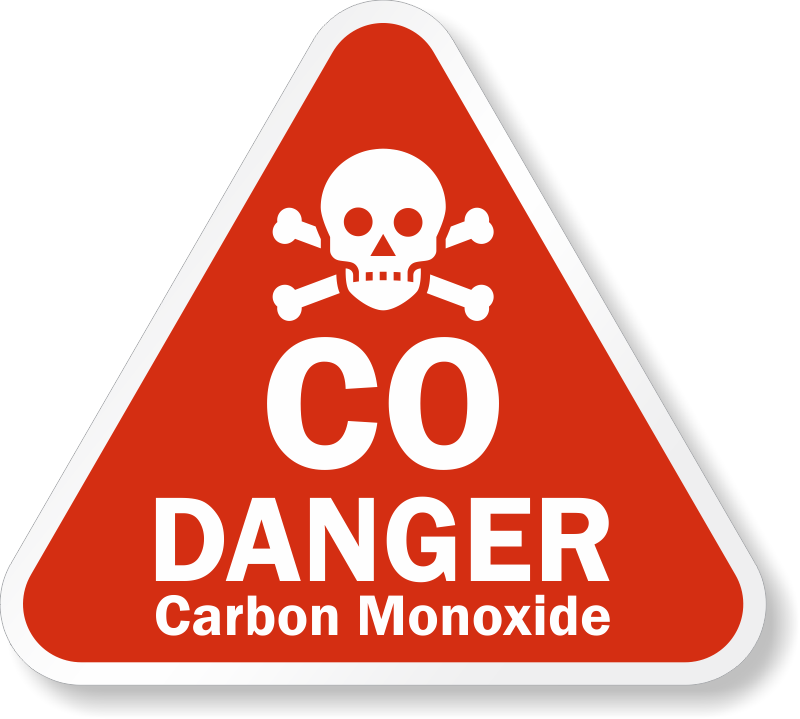 Carbon Monoxide Warning Signs Mysafetysign Com