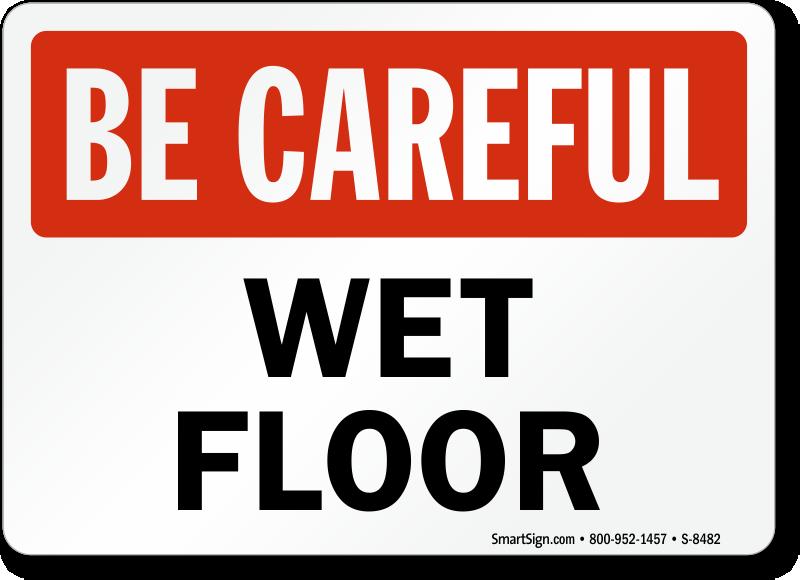 Caution Wet Floor Signs - MySafetySign.com