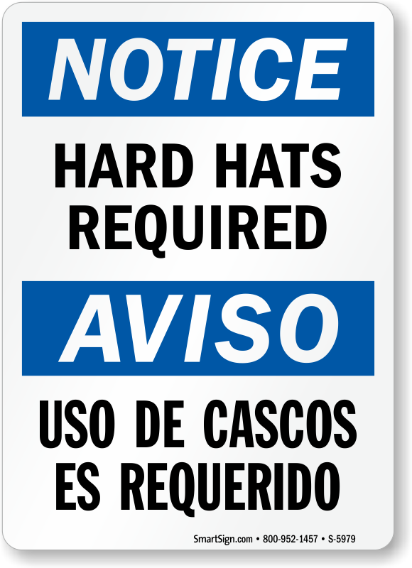 Bilingual Hard Hats Required Sign  Ships Hassle Free, Sku. Investment Property Lenders Pr Web Coupons. Kansas City Ford Dealerships. Master Degree Computer Science Online. 296 90 Mood Disorder Nos It Support Directory. Network Security Questions Data Cable Wiring. Attorney In Baltimore Md Night School Courses. Insurance Agent Management Software. Family Health Plus Dental Mobile Pbx Service