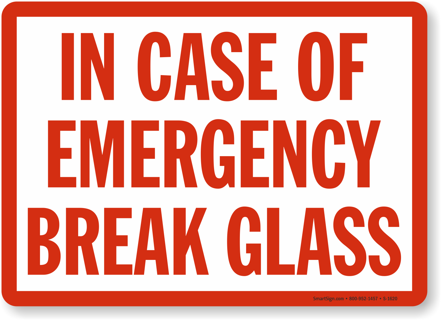 Image result for in case of fire break glass, photos