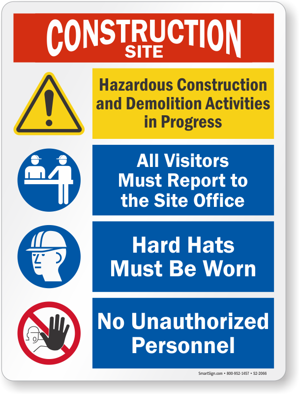 construction site harzard