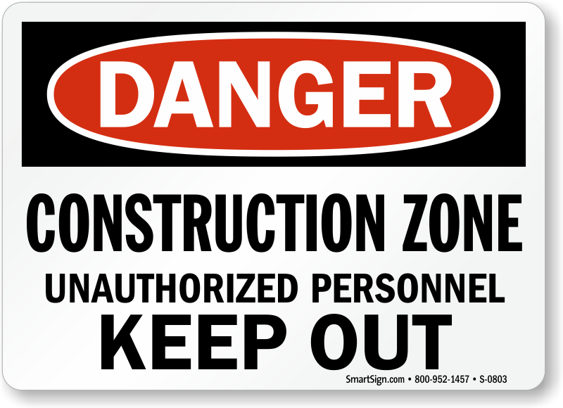 Construction Zone Signs | Free Shipping from MySafetySign