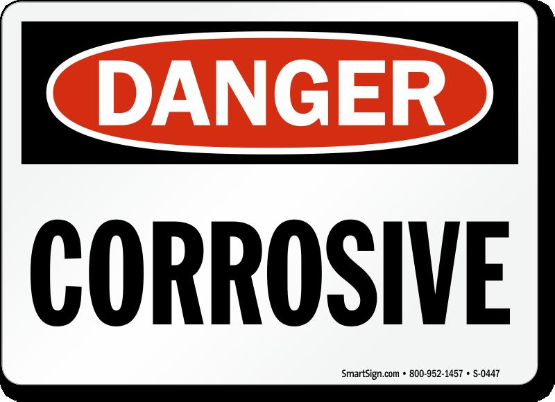 DANGER CORROSIVE - ClipArt Best