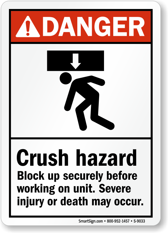Black crush sign in