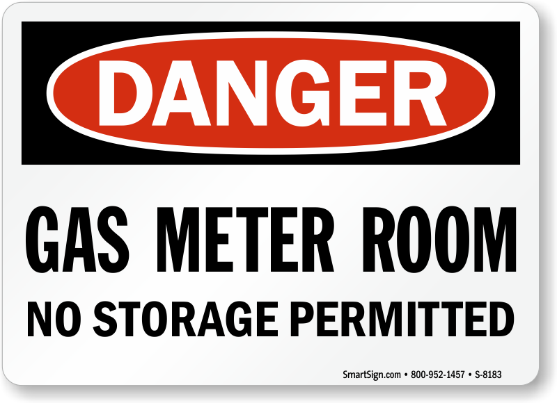 Storage Room Sign Images