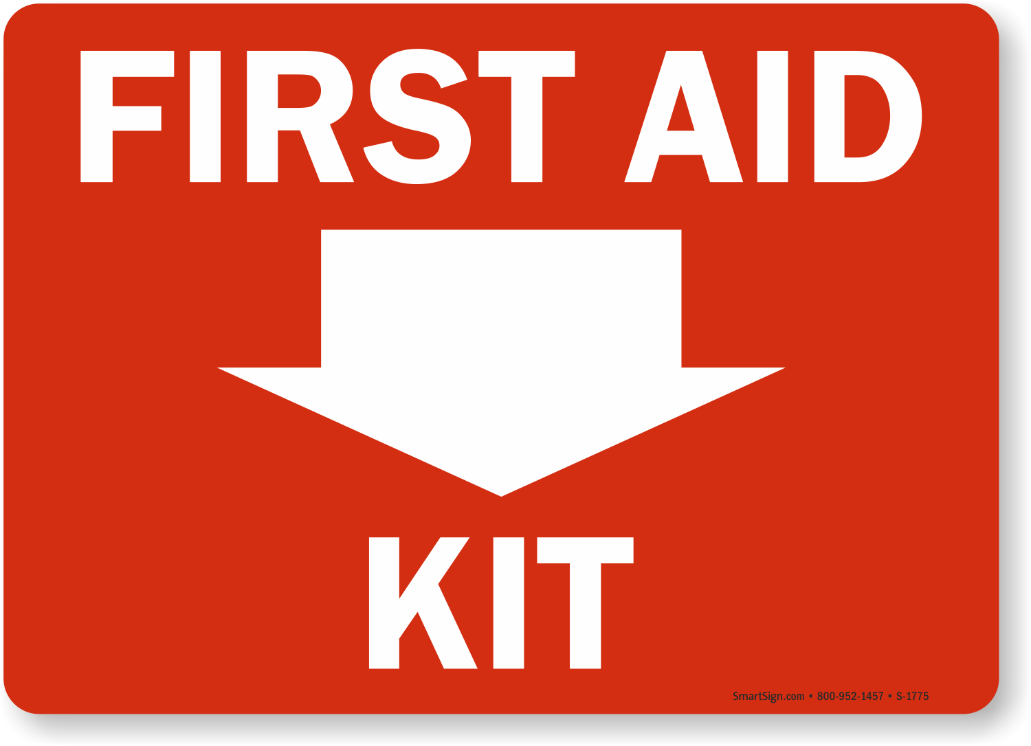 First Aid Sign : First aid signs labels and aed free