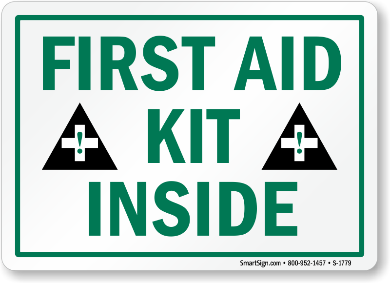 First Aid Kit Signs Best Prices From Firstaidsigns Com
