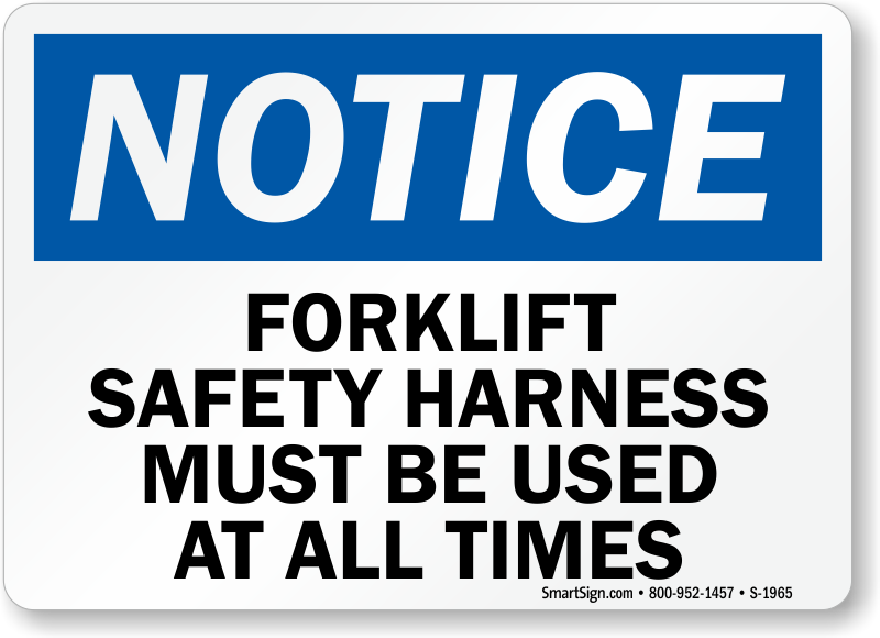 Safety Harness Signs Safety-harness-sign/saf