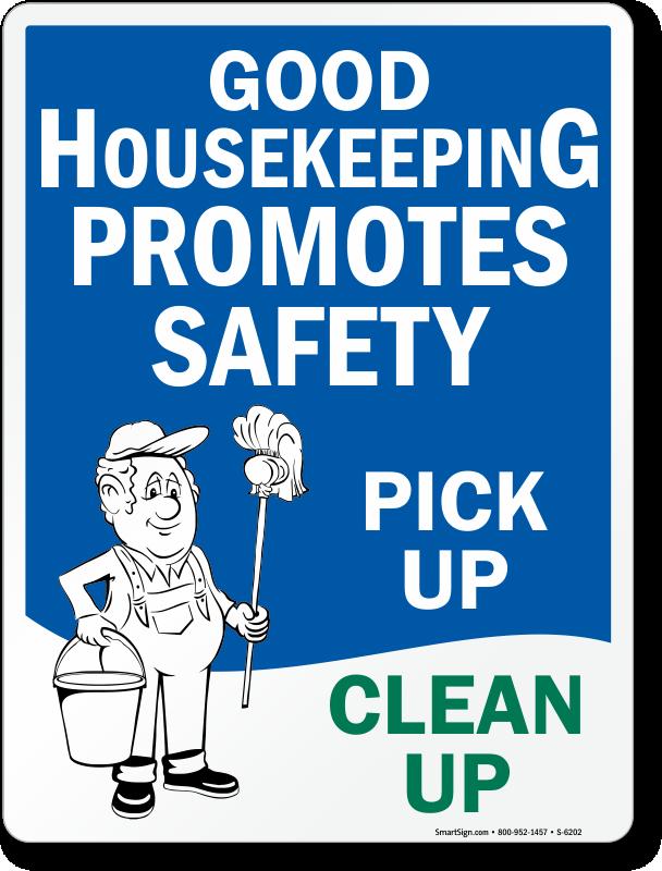 good housekeeping practices