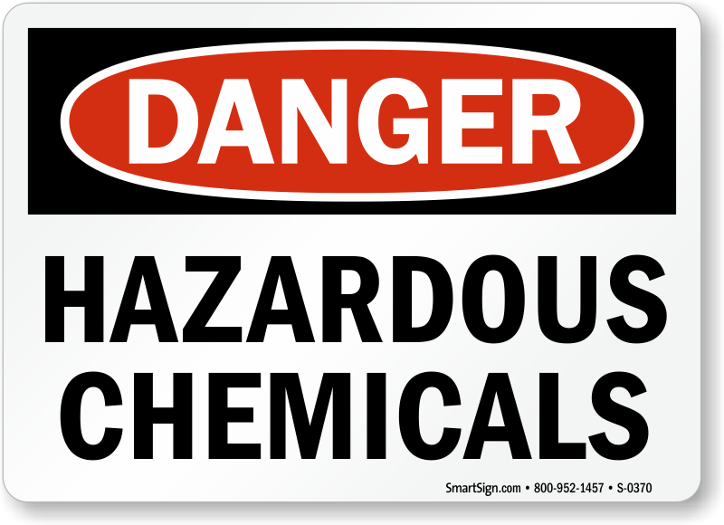 Chemical Warning Signs Mysafetysign Com