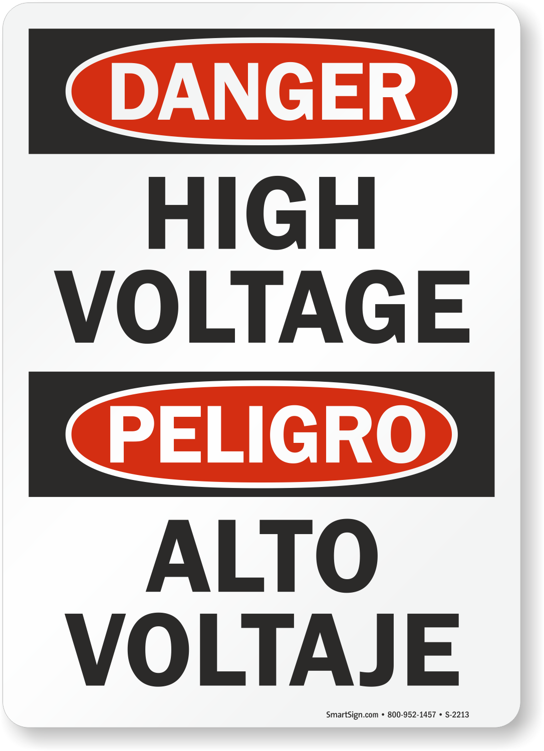 Bilingual Signs And Labels Spanish Signs
