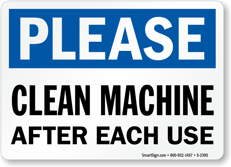 what to use to clean machine