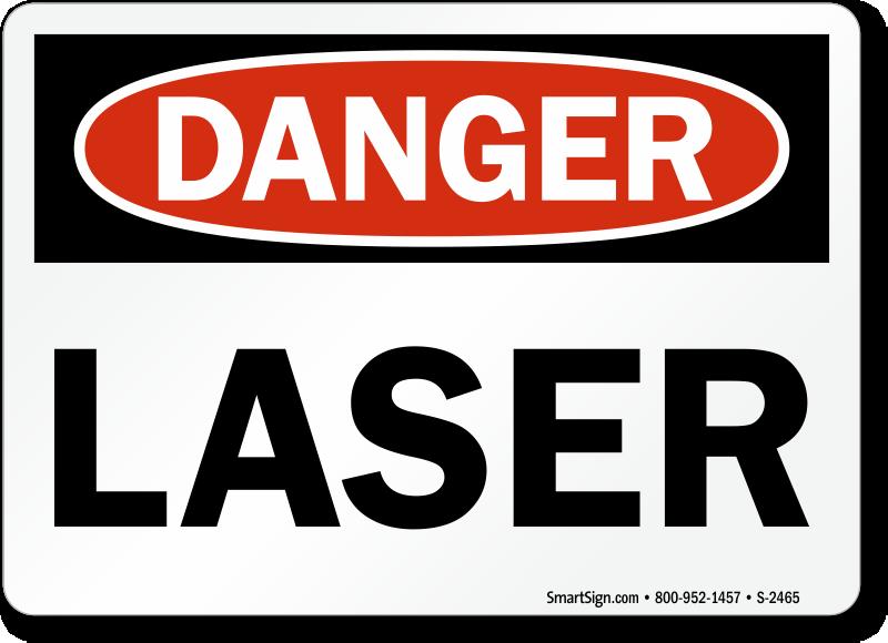 laser in use sign pdf