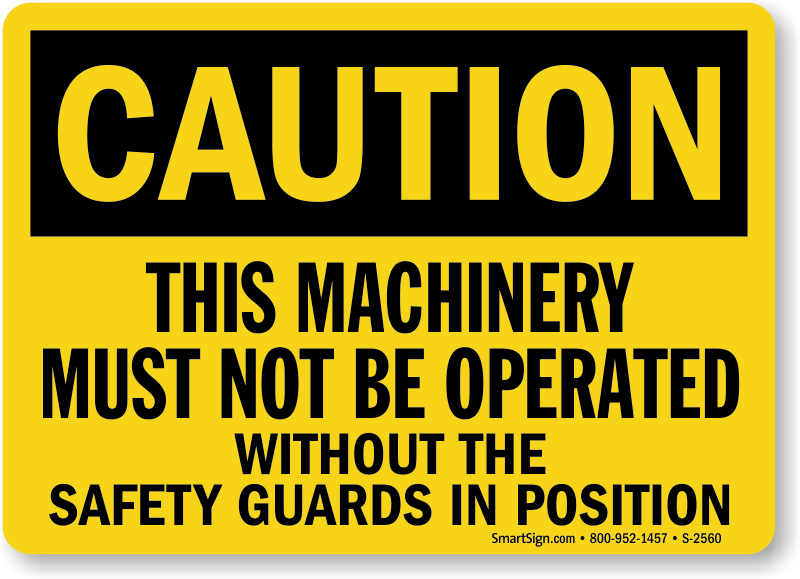Machinery Safety Guards | Forklift Barriers | OSHA Protective ...