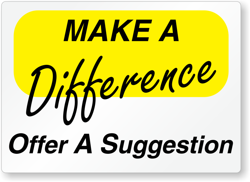 Suggestion Box Signs And Suggestion Box Kits Free