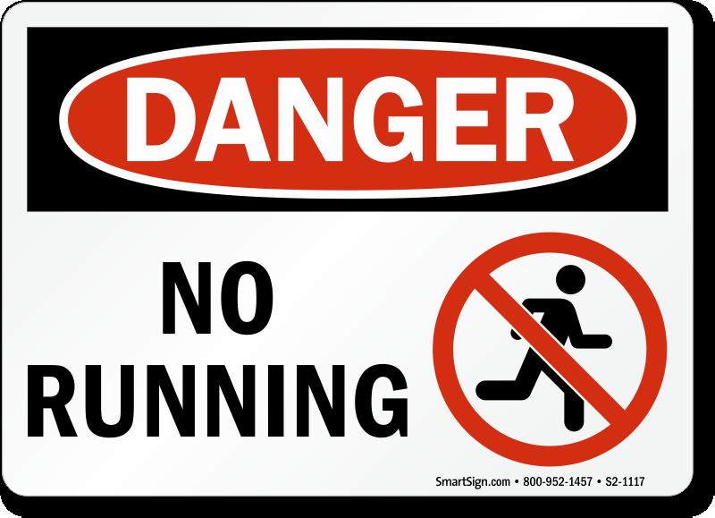 do not run signs mysafetysign com caution clip art thinking clip art caution clip art border