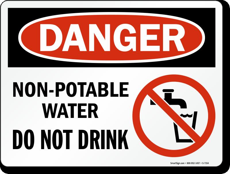 Image gallery non potable for Potable water