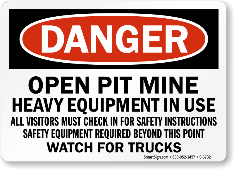 Mine safety signs last 10 years outside mysafetysign