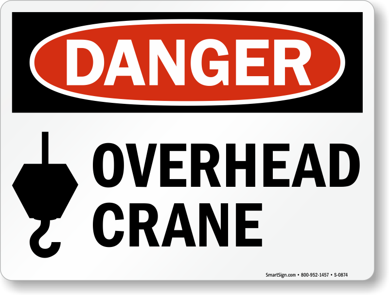 Crane Safety Signs Hoist Safety Signs Mysafetysign Com