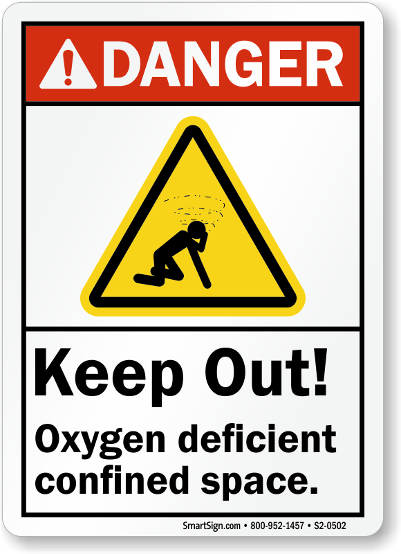 Keep Out Oxygen Defici...