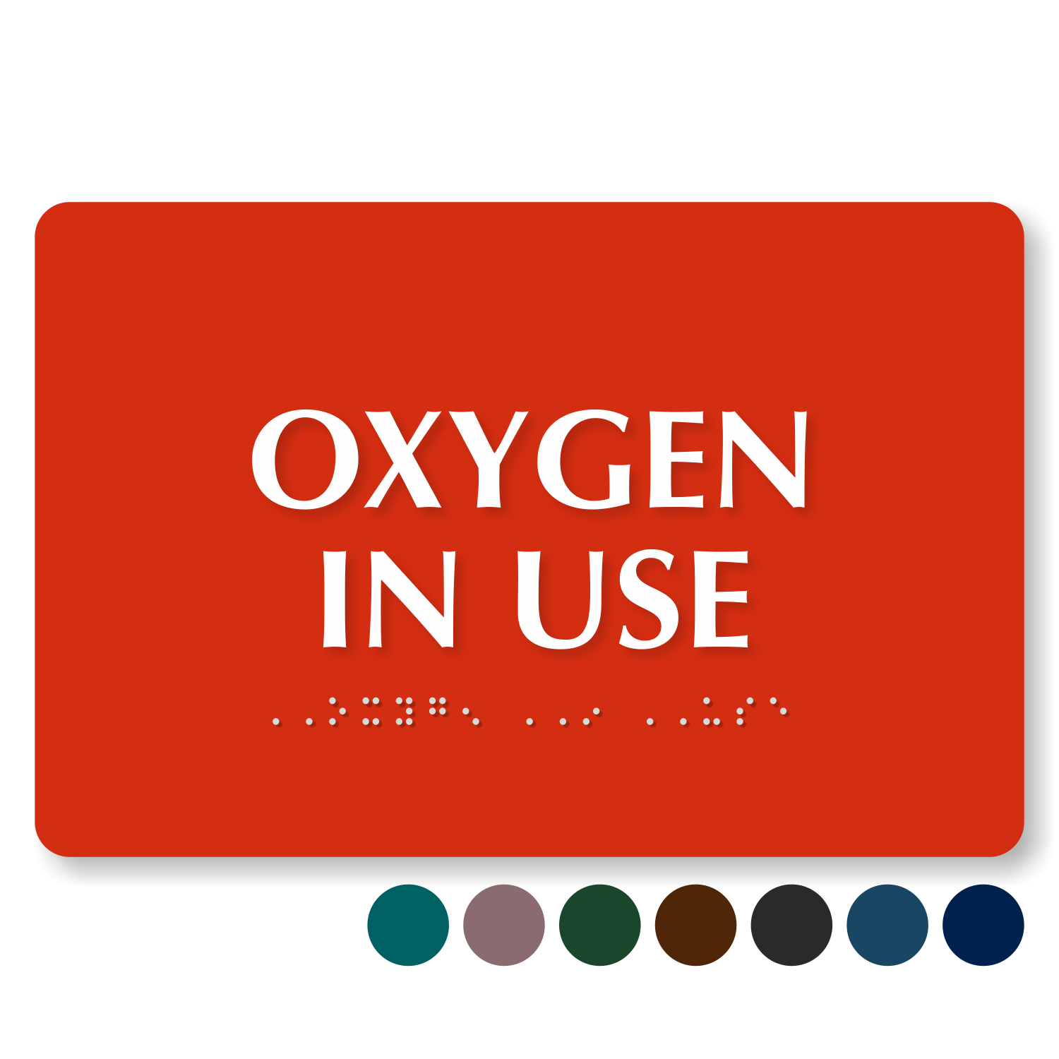 Gorgeous image within oxygen in use sign printable