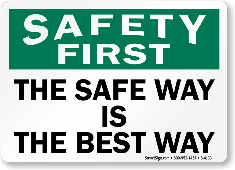 Safety First Pictures to pin on Pinterest