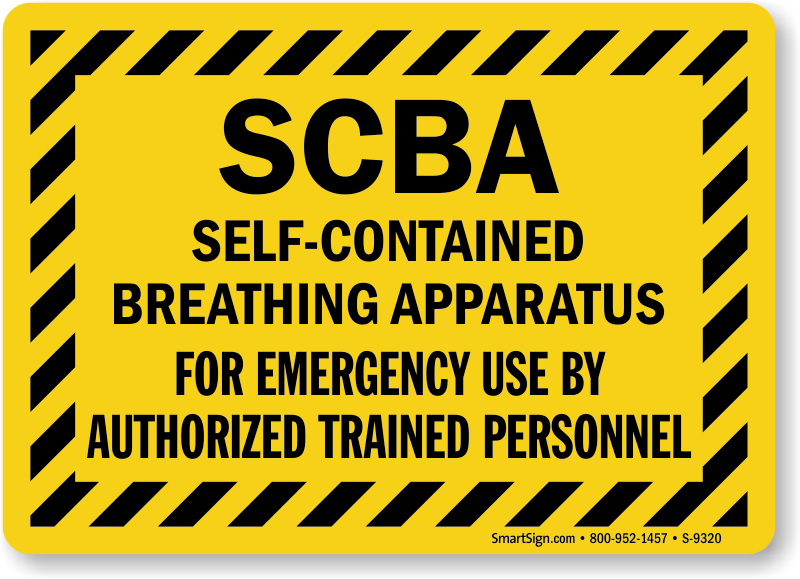 Sku S 9320 on self contained breathing apparatus