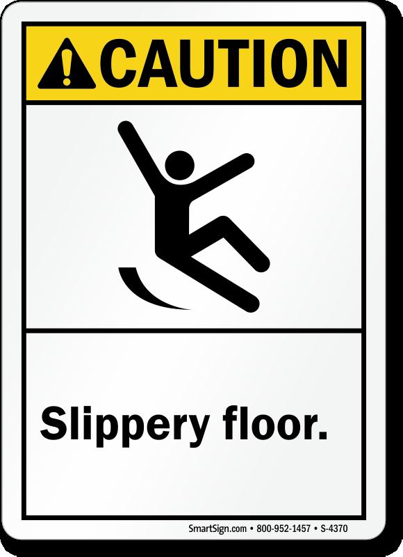 Slippery Floor Sign Carpet Vidalondon