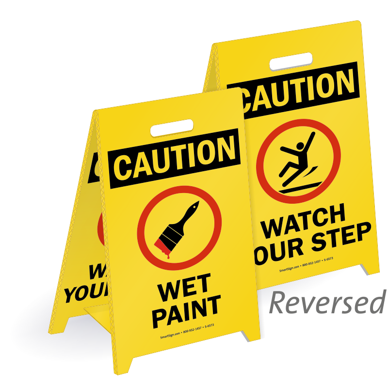 Wet Paint Signs Tags Best Prices Assured