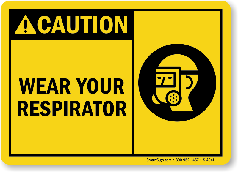 Best Selling Wear Your Respirator Sign, SKU: S-4041 ...