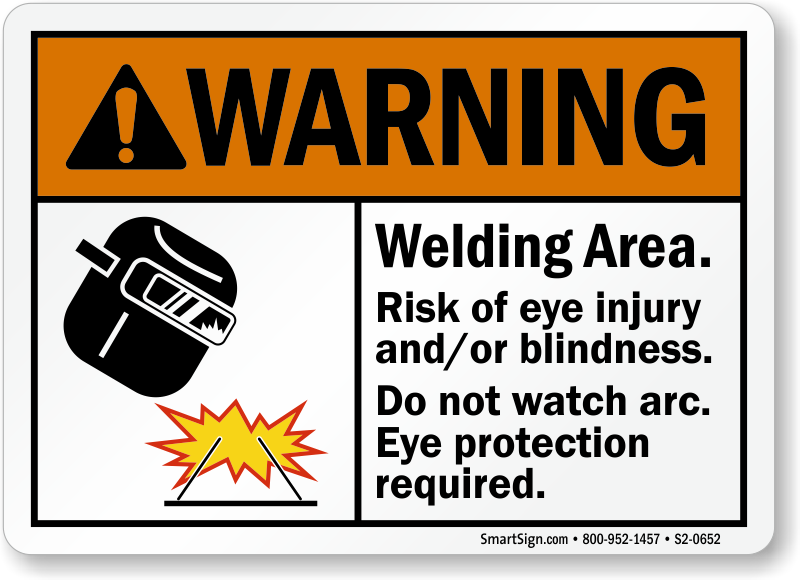 Arc Flash And Welding Arc Signs Mysafetysign Com
