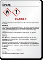 Ethanol GHS Sign