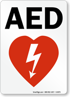 AED Graphic Sign