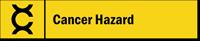Cancer Hazard Stacking Magnetic Door Sign