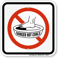 Hot Coals (Graphic Only)