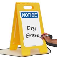 Notice FloorBoss XL™ Free-Standing Sign