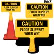 Floor Slippery When Wet ConeBoss Sign