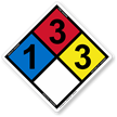 NFPA 704 Safety Sign