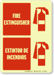Fire Extinguisher (with graphic) (Bilingual)