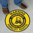 Forklift Traffic Signs Mysafetysign Com