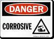 Danger Corrosive Sign