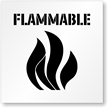 Flammable Floor Stencil