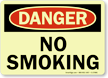 Danger: No Smoking (Glow)