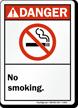Danger: No Smoking (ANSI style)