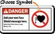 Danger ANSI  Pacemaker Sign