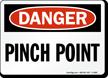 OSHA Danger Sign onmouseover =